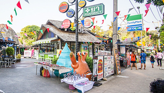GO SHOPPING AROUND AO NANG STREET